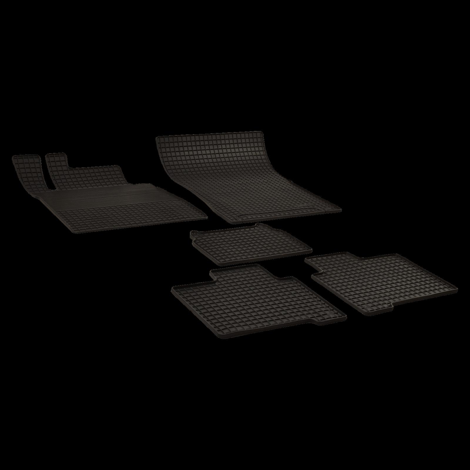 G Floor Mats >> Rubber Floor Mats Black For Mercedes Benz G Class Year Of Make 09 89