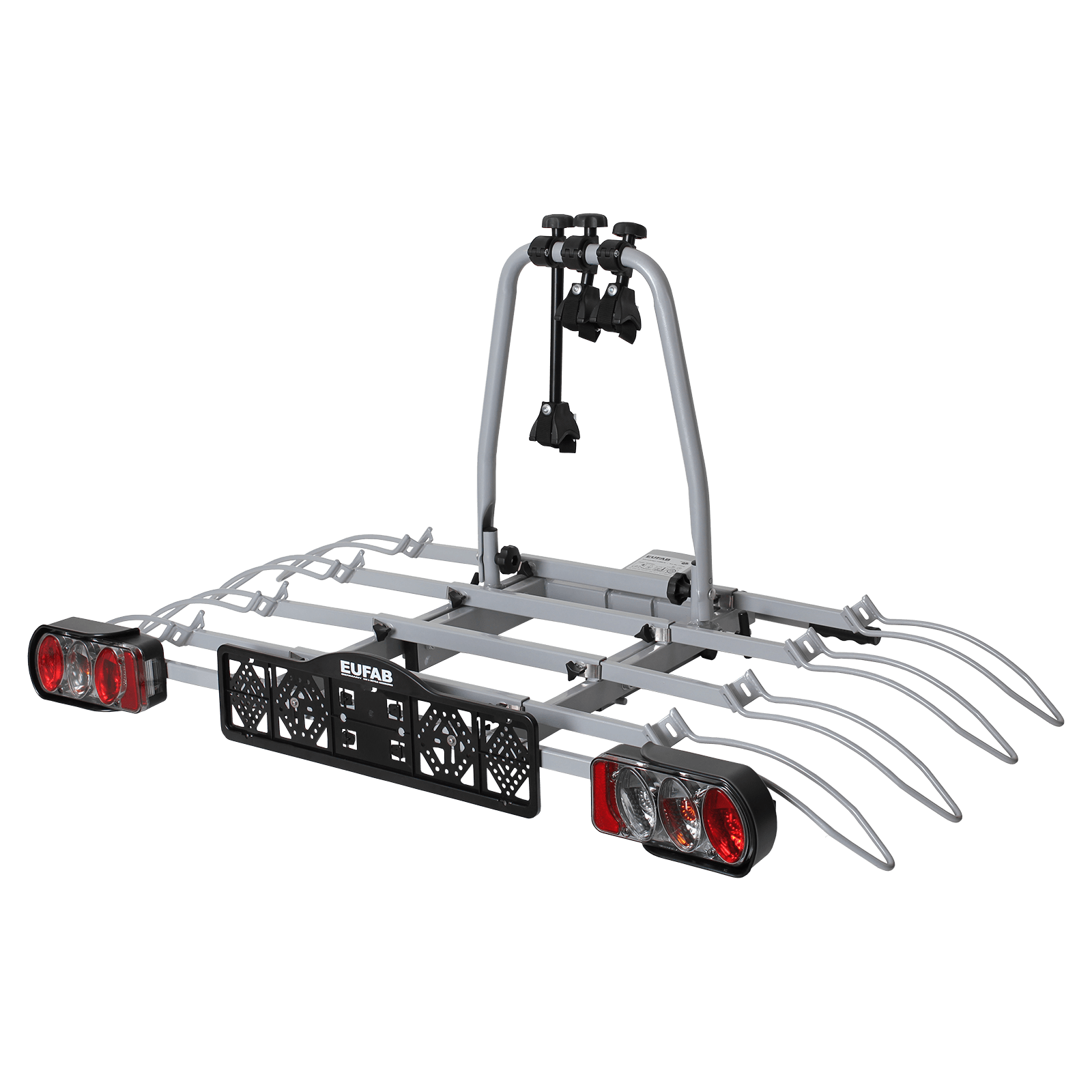 bike carrier eufab luke for 4 bicycles mounting on the. Black Bedroom Furniture Sets. Home Design Ideas