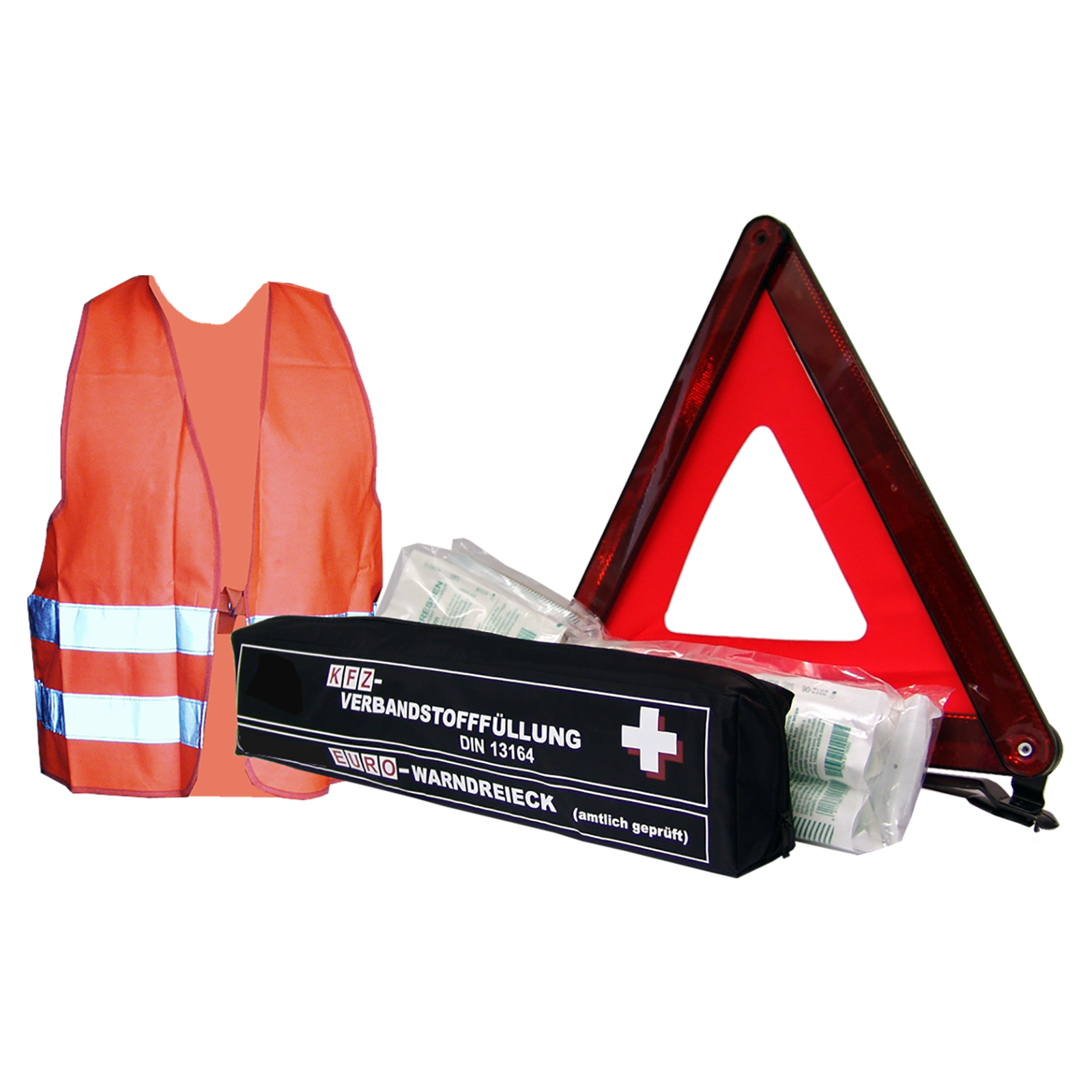 Mini Combination Bag First Aid Kit Safety Vest And