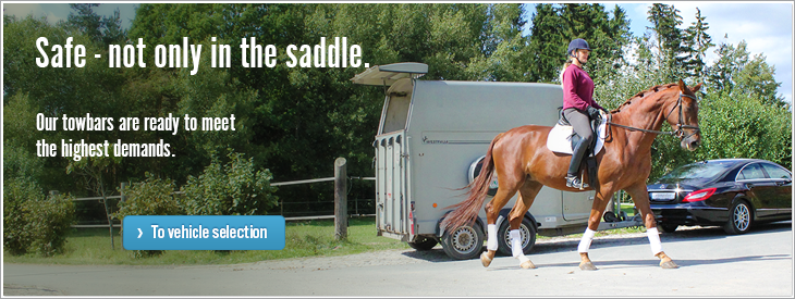 Safe - not only in the saddle.