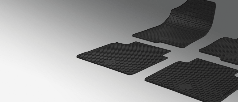 Mercedes Benz Sprinter 3 T Platform Chassis 903 Floor Mats Rameder